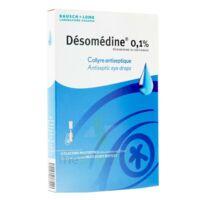 DESOMEDINE 0,1 % Collyre sol 10Fl/0,6ml à JACOU