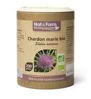 Nat&Form Eco Responsable Chardon marie Bio Gélules B/200 à JACOU