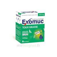 EXOMUC 200 mg glé usage oral en sachet 15 Sachets/2g à JACOU