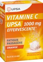 Vitamine C Upsa Effervescente 1000 Mg, Comprimé Effervescent à JACOU