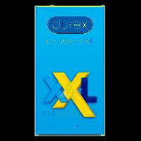 DUREX COMFORT XXL Préservatif lubrifié B/10 à JACOU